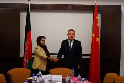 """张茅率团访问阿富汗、老挝和蒙古国  深化经贸合作 共建""""一带一路"""""""